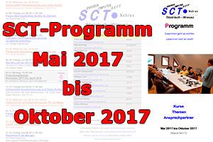 Programm Mai bis Oktober 2017